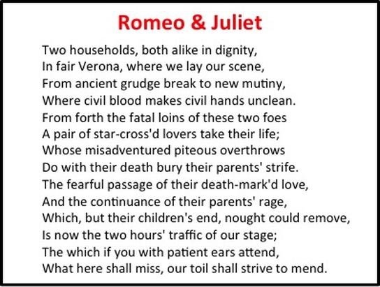 romeo and juliet important essay quotes